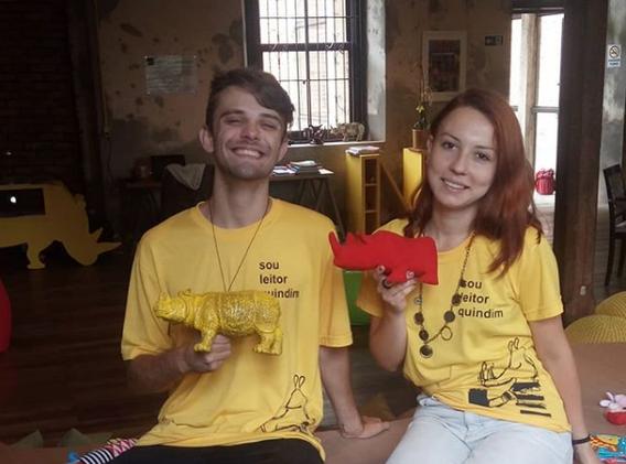 EQUIPE QUINDIM (Marco Benelli e Franciele Oliveira)