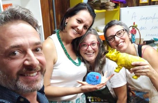 ATELIÊ CASA DO CARAMUJO (Volnei Canônica, Adriana Lucena, Adriana Antunes e Ana Júlia Poletto)
