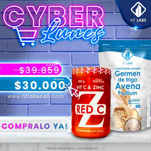 Cyber promo vita C +fibra x 450 gr