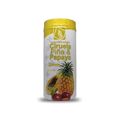 Fibra Digestiva, ciruela, Piña y Papaya