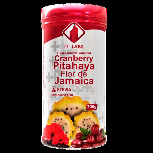 Cramberry + Pitahaya + Flor de jamaica