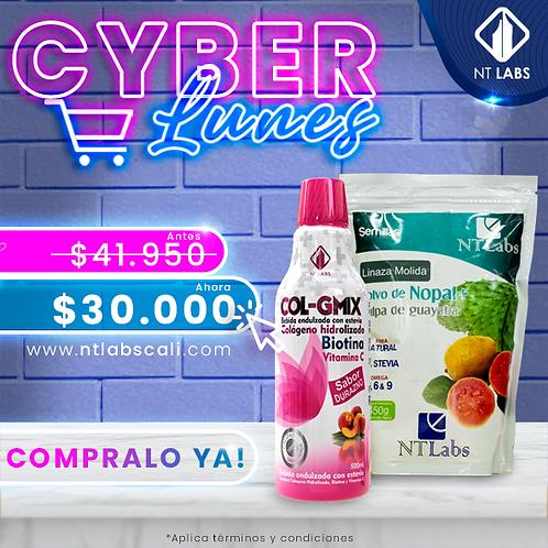 Cyber promo col g mix +Fibra x 750 gr