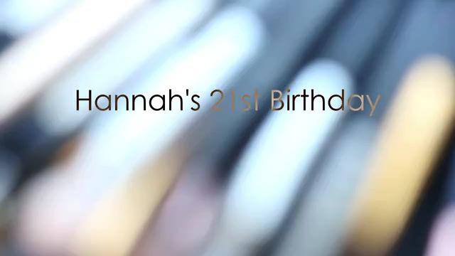 21st Birthday Photoshoot