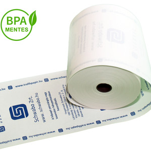 BPA mentes pénztárgépszalag
