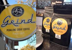 BMT Grind Coffee - Signage & Labels