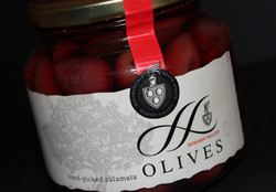 Hidden Valley Olive Lable