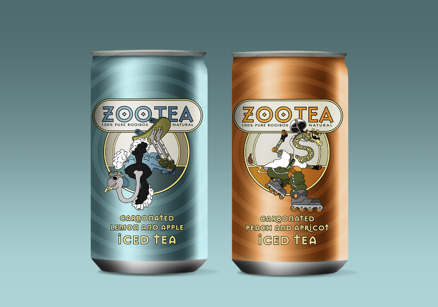 Zootea Packaging & Illustration