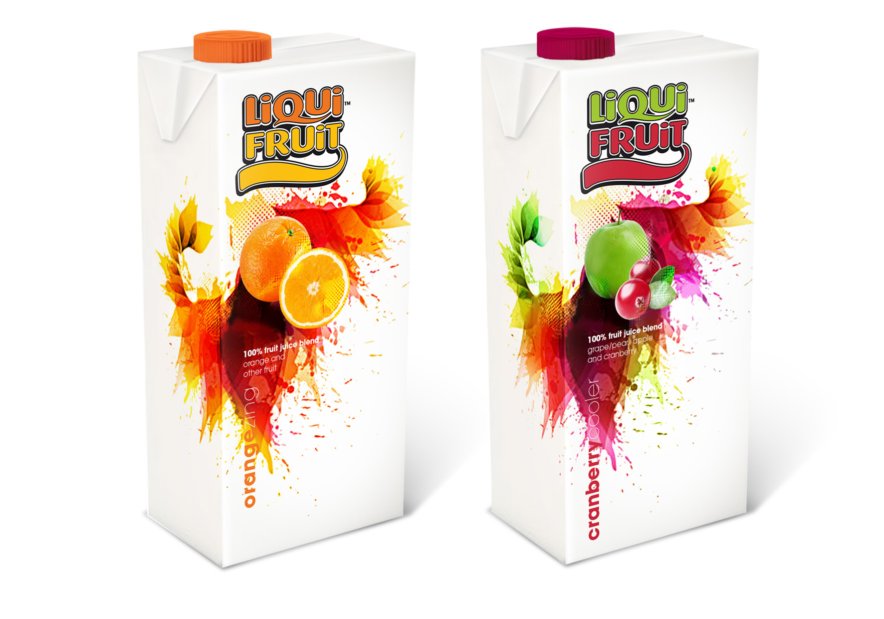 Liquifruit Pack Design
