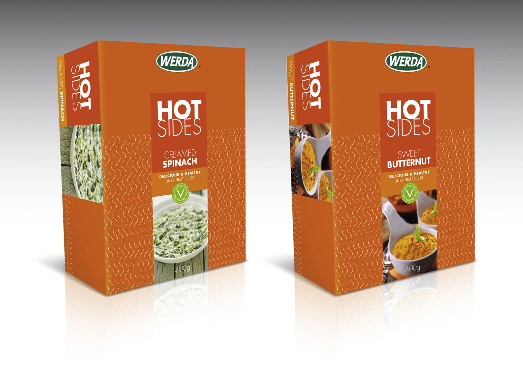 Werda Hot Sides Pack Design