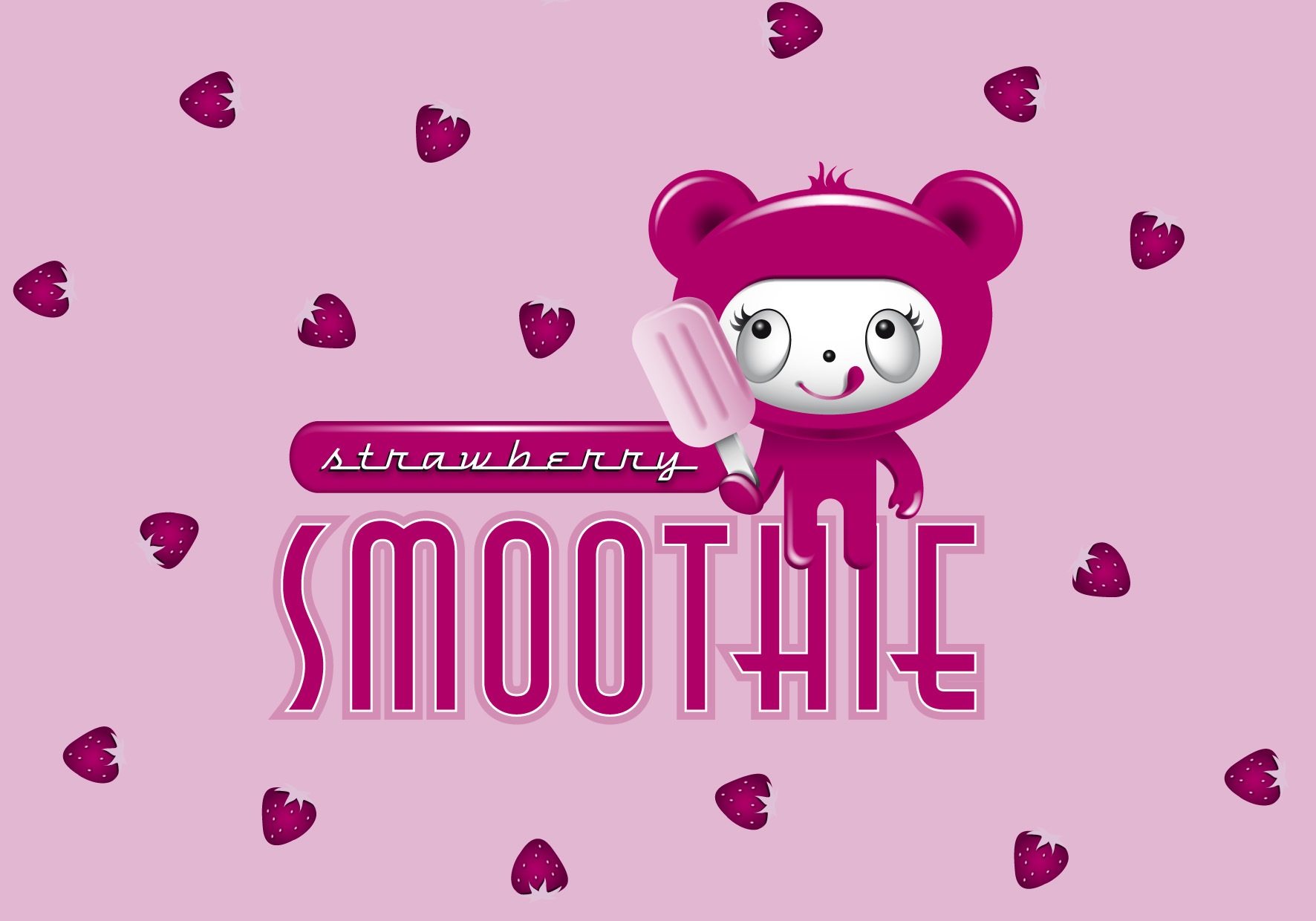 Smoothie Character & Logo