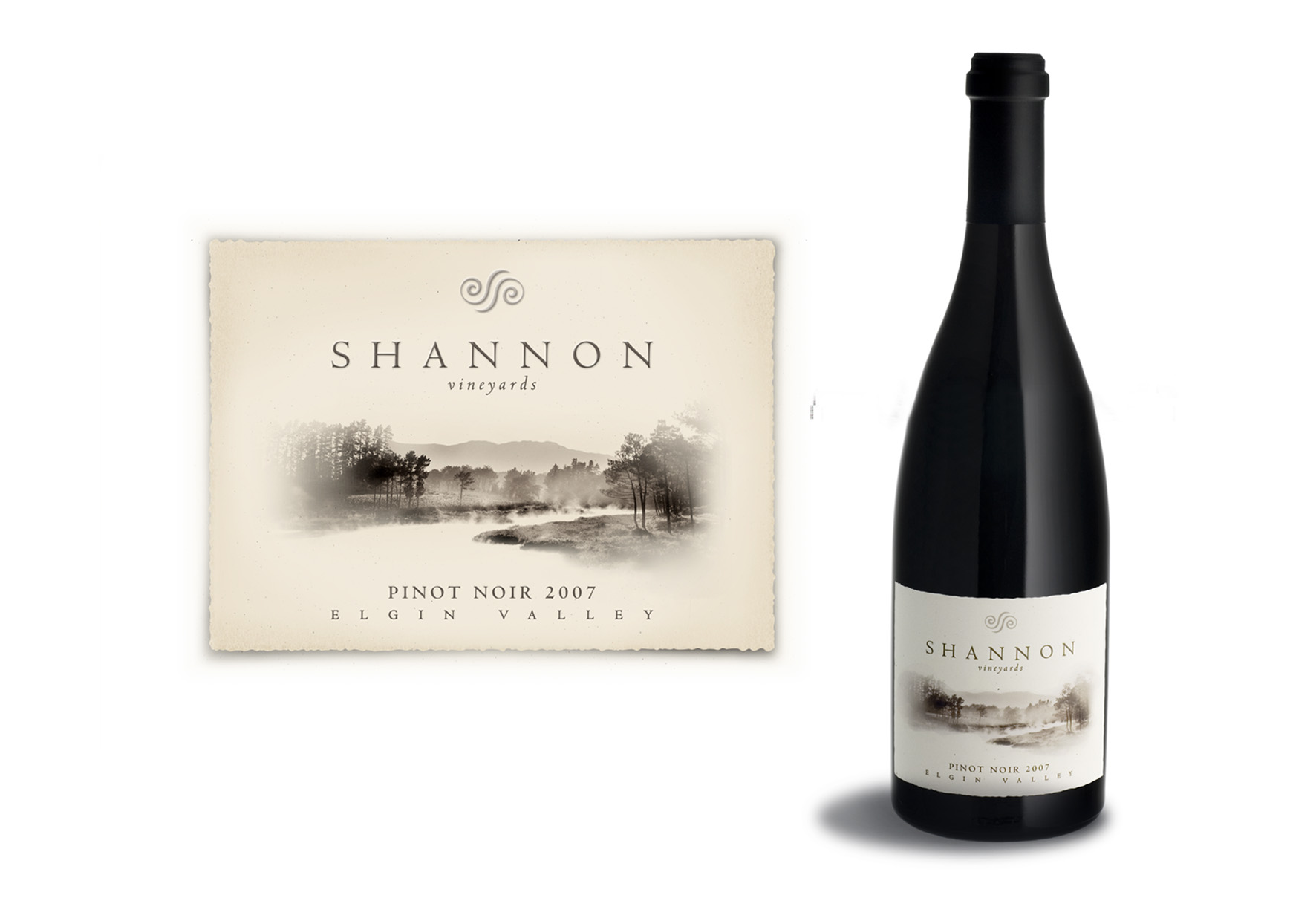 Shannon Vineyards Labels