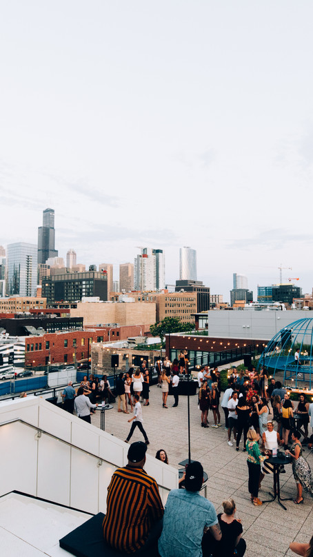 GOLDEN HOUR AT THE ACE HOTEL CHICAGO WITH FORD MODELS