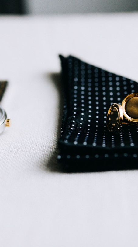 ESSENTIAL DETAILS FOR THE MODERN GROOM