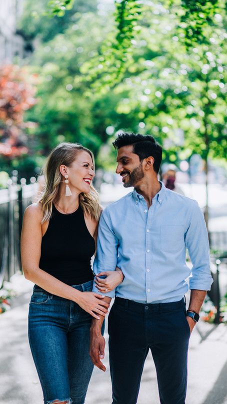 ADORABLE GOLD COAST + NAVY PIER ENGAGEMENT | CHICAGO PHOTOGRAPHER