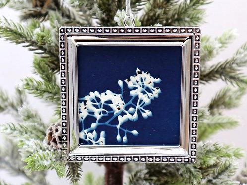 Cyanotype Ornament 8