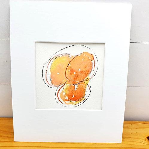 Tangerine orbs