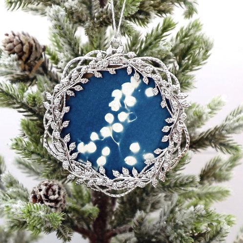 Cyanotype Ornament 15