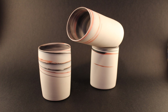 Agate Ware Small Cylinders - SOLD