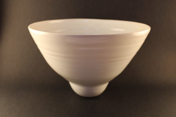 Porcelain tall large Bowl