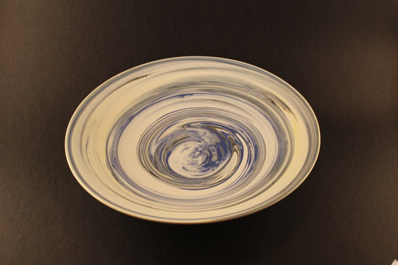 Agate Ware flat medium Bowl - SOLD