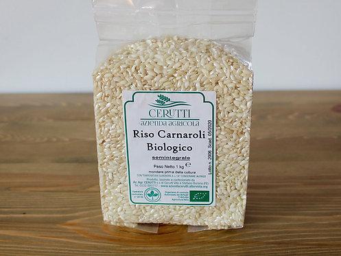 RISO semi-INTEGRALE Carnaroli Bio 1 Kg.