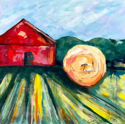 Teller Farm 24 x 24 Acrylic $425