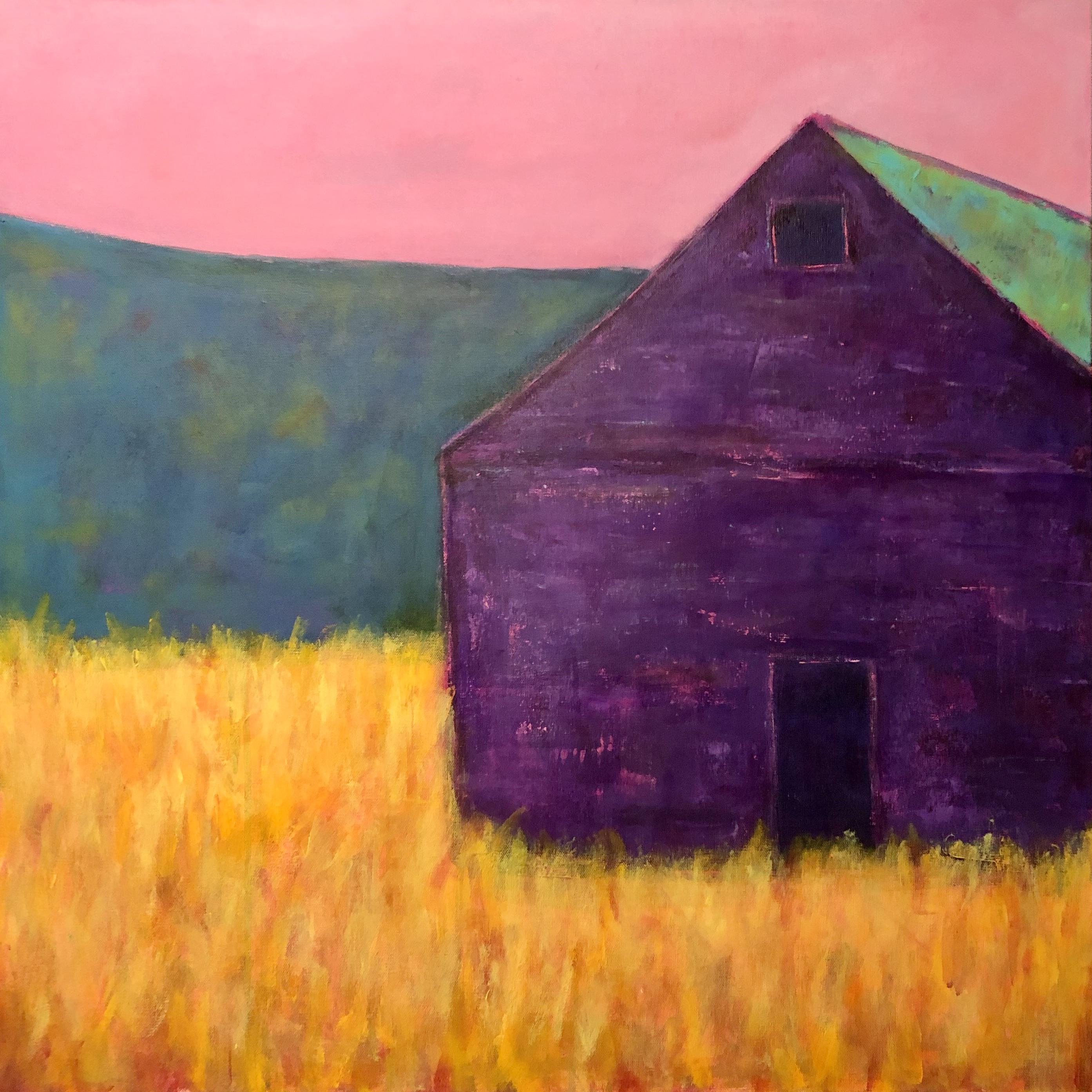 Vibrant Purple Barn 30 x 30 $625