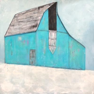 Blue Barn 30 x 30 $625