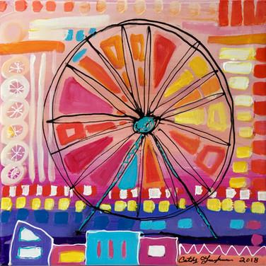 Ferris Wheel - Pink