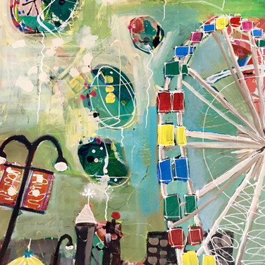 Ferris Wheel and Balloons