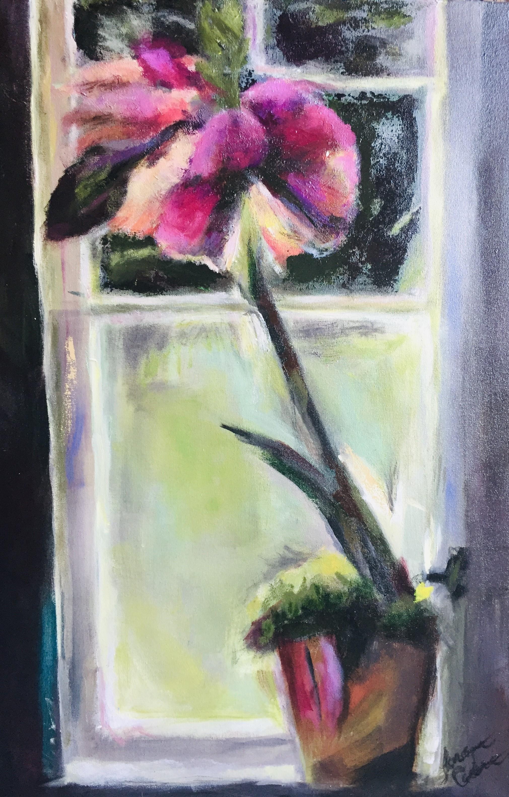 Winter Window 24 x 36 Acrylic $775