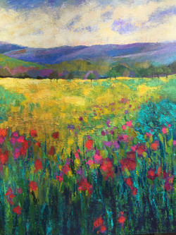 Blooming Wild 20 x 20 Acrylic $395