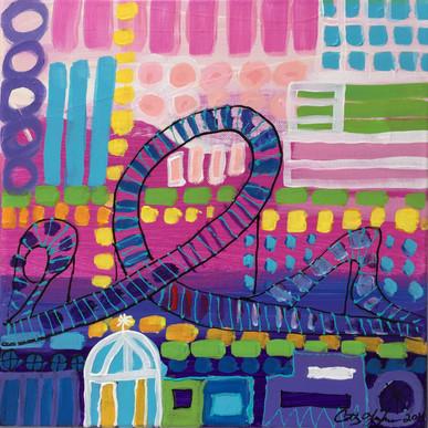 Roller Coaster - Pink
