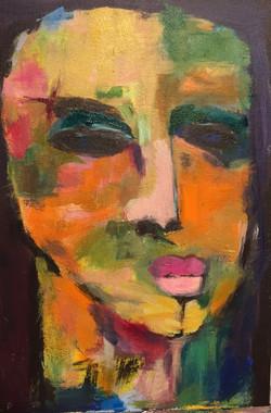 Woman 12 x 16 Acrylic $280 Sold