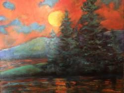 Moonshine 20 x 20 Acrylic $295