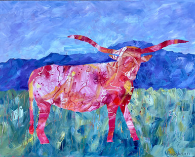 Longhorn in the Pink