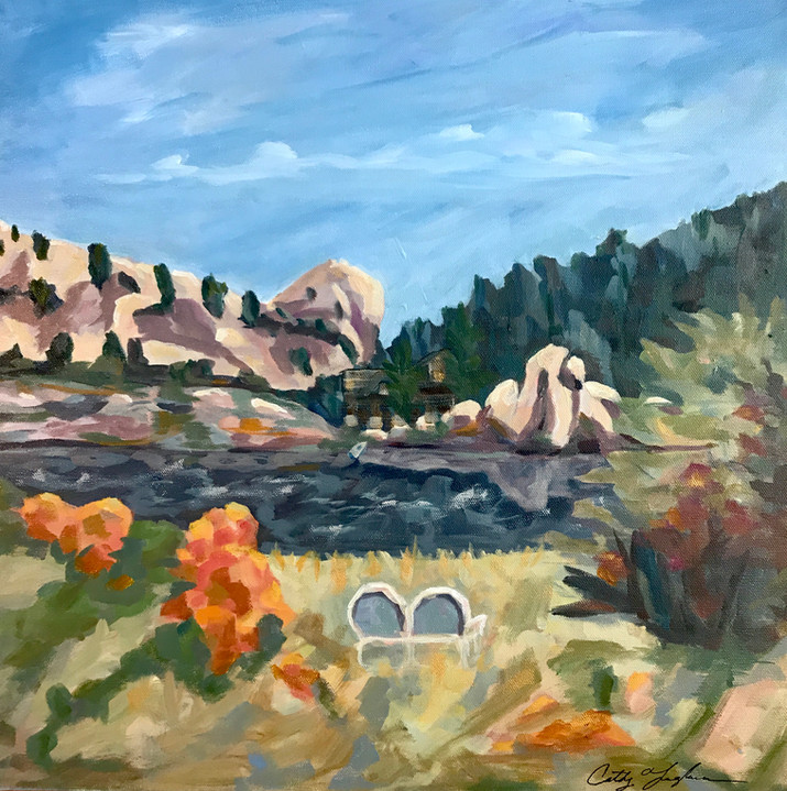 View Across Willow Lake