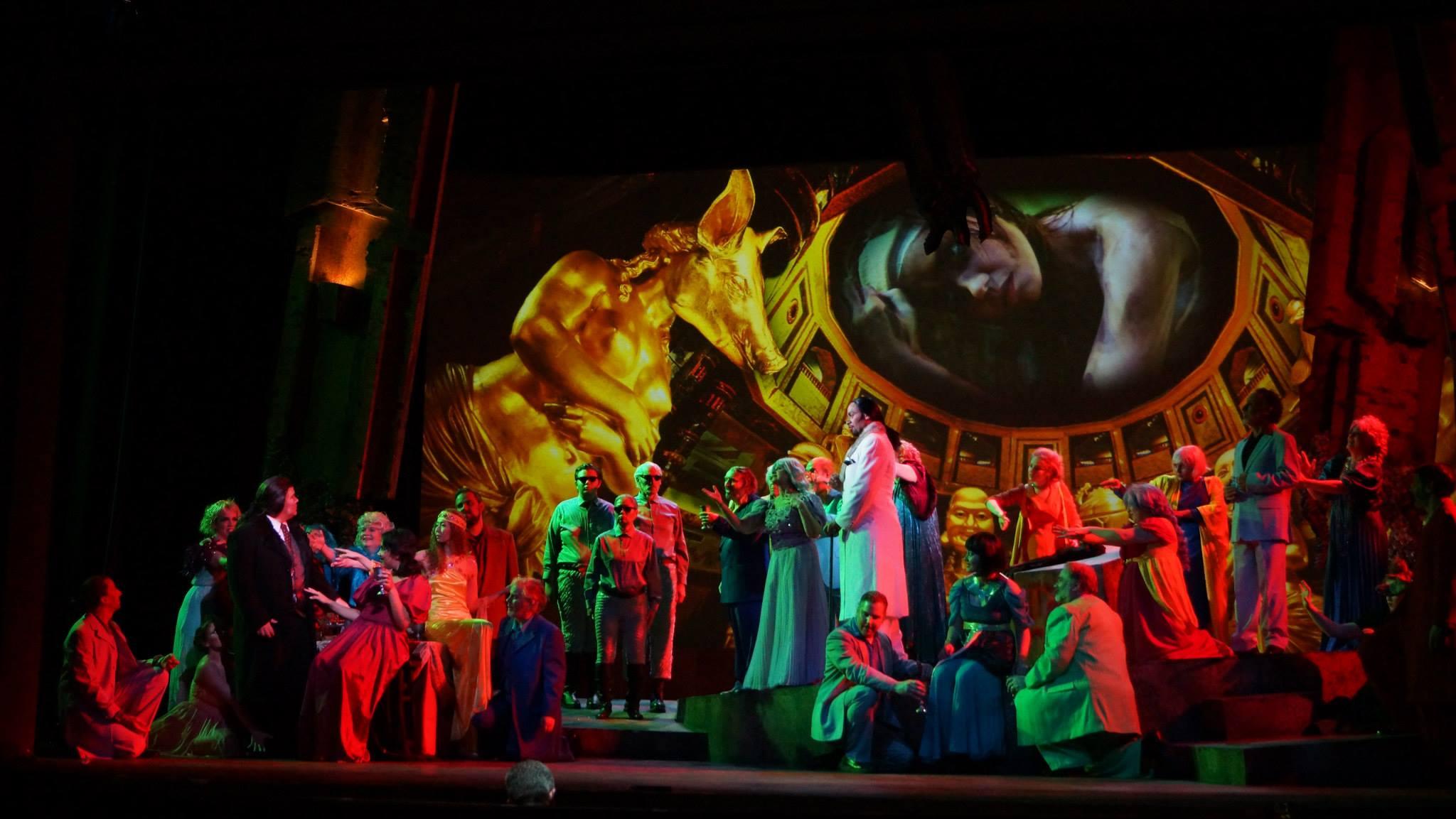 Faust Act 4, Walpugis 4