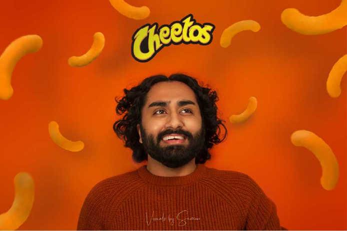 Cheetos X Visuals by Sameer