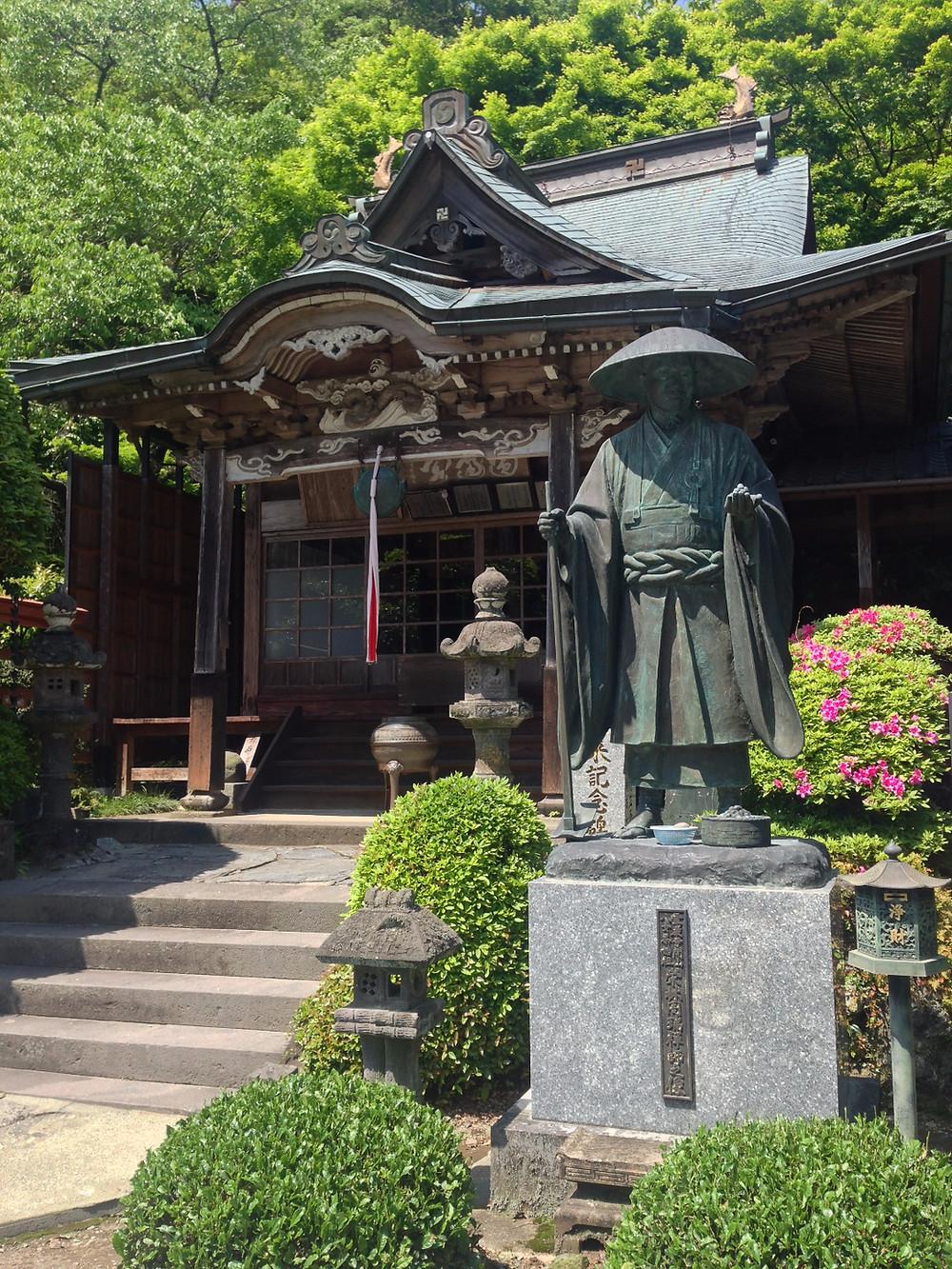 Eirin the zen-master @ Reigan-ji temple, Yame