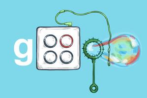 Marble Soda Google Logo