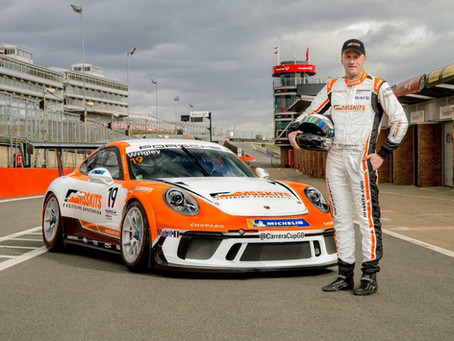 The Bench Advises MSS Kits on Sponsorship of Tom Wrigley in the Porsche Carrera Cup GB 2018