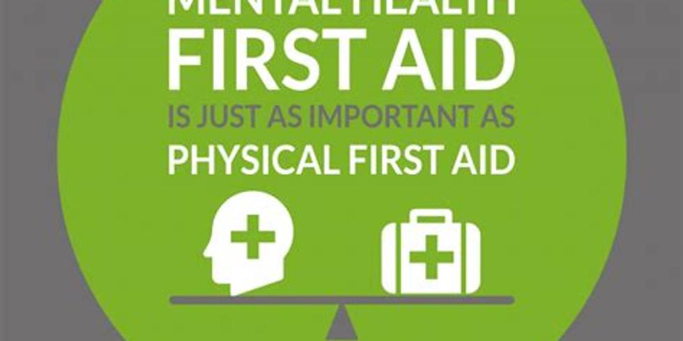 Mental Health First Aid (MHFA) Online February