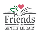 Logo of the Friends of the Gentry Library