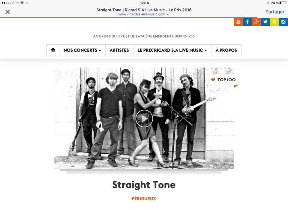 straight tone