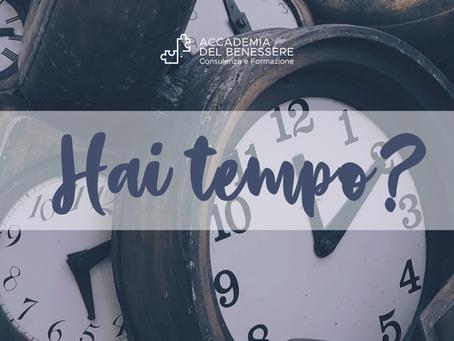 Hai tempo?