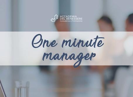 One minute manager: ecco tre semplici linee pilota e molto efficaci!