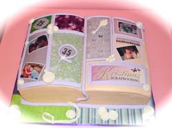 Scrapbook-Cake