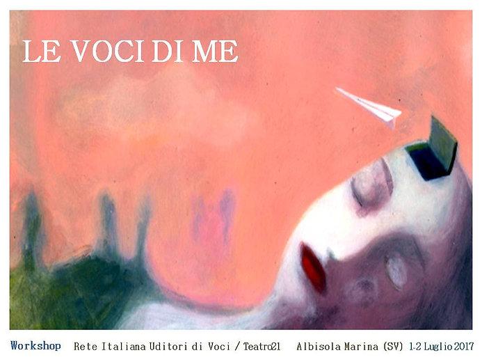 le voci di me workshop italiano uditori di voci luglio 2017