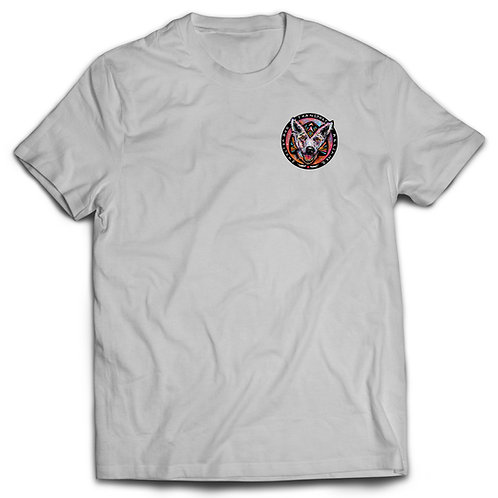 T-shirt White with Color logo